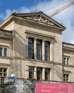 Fassade vom Neuen Museum Berlin